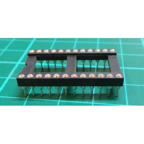 DIL24PZ patice precizní 15,24mm RM 2,54mm