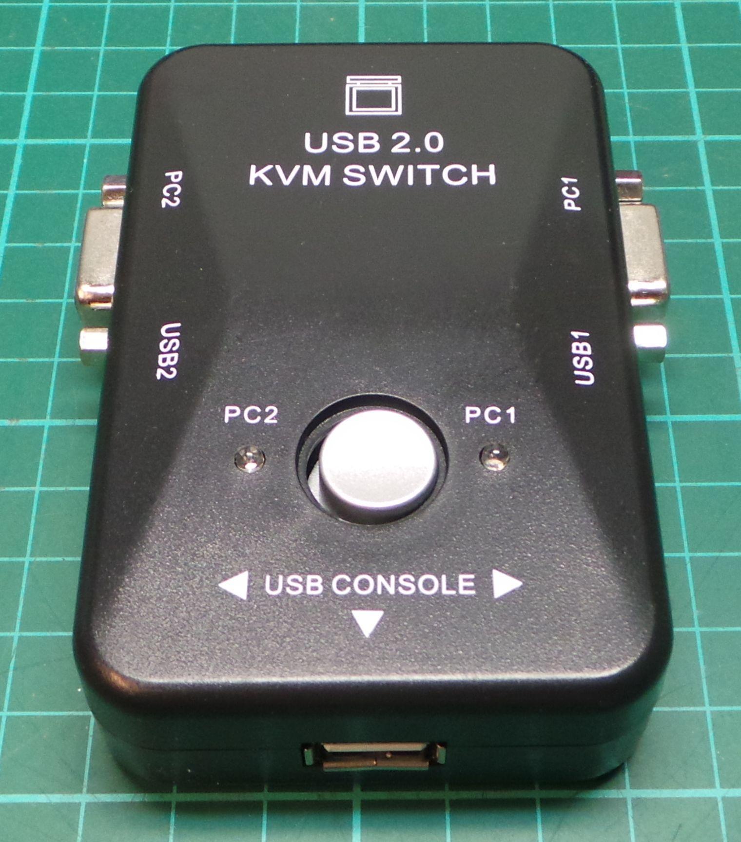 Kvm Switch Box For 2 Pcs Dsmcz 4 Way Rj45