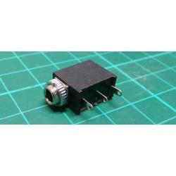 "10PCS 1/8"" 3.5mm Stereo Socket Jack Headphones With nut PCB Panel Mount PJ-323M"