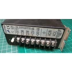 USED PSU, Switched Mode, 5V@15A, 12V@4A, 24V@4A