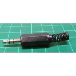 3.5mm Jack Plug, Stereo, Plastic
