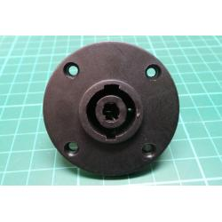 Speakon Socket, Panel mount, Round