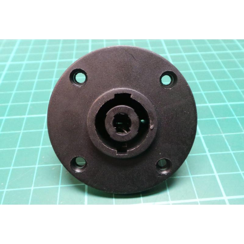 Speakon Socket Panel Mount Round Dsmcz