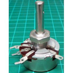 Potentiometer, 25K, Lin (with tap at 25%), THT, 6x22mm Shaft