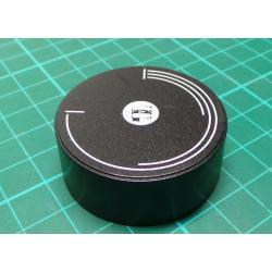 Knobs diameter 42mm, in 15 mm, 6 mm shaft