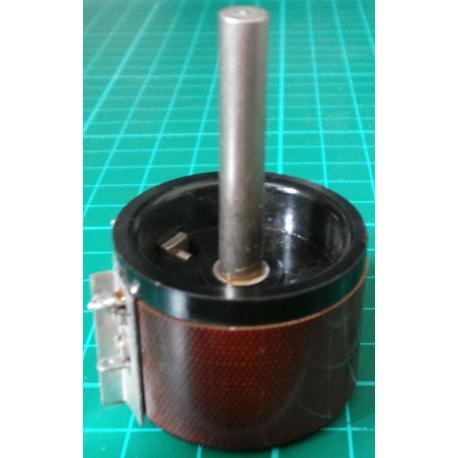 Potentiometer, 68R, Lin, 3W, Solder Tags, 6x28mm Shaft, Wirewound