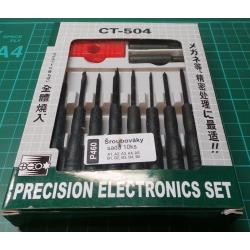 Security Screwdriver Set, A1, A2, A3, A4, A5, B1, B2, B3, B4, B5