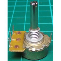 Potentiometer, 10K, Log, THT, 4x15mm Shaft
