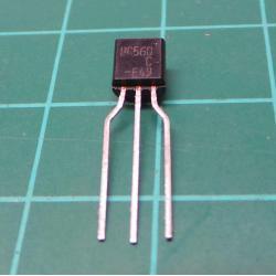 Transistor: PNP, bipolar, 45V, 100 mA, 500mW, TO92