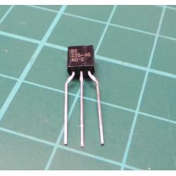 Transistor: NPN, bipolar, 25V, 800 mA, 625mW, TO92