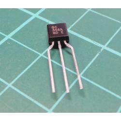 Transistor: PNP, bipolar, 65V, 100 mA, 500mW, TO92
