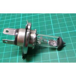 Halogen bulb H4 24V 75 / 70W, P43t socket DISCOUNT