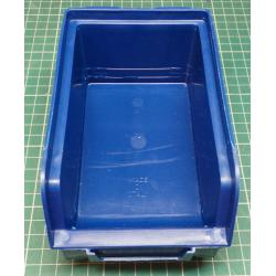 Stacking plastic box 102, 103x166x73mm