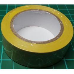 Insulating Tape, Roll, Yellow