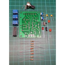 ICL8038 Function Generator Kit, Sine Square Triangle