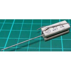 Resistor, 4K7, 5%, 5W, Old Stock