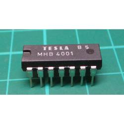 4001, CD4001, 4x 2 input NOR