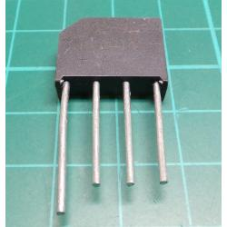 B250C4000 diode bridge ~ 250V / 4A wire. KBU4J