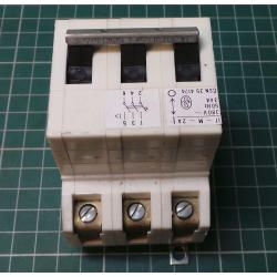 Used 3 Phase MCB, 2A