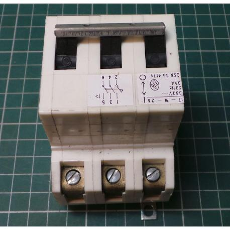 Used 3 Phase MCB, 2A - DSMCZ