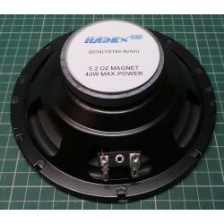 Speaker, 8ohm, 165mm, 20W RMS