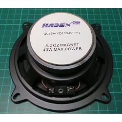 130 mm speaker 8ohm YD130 / 20WRMS