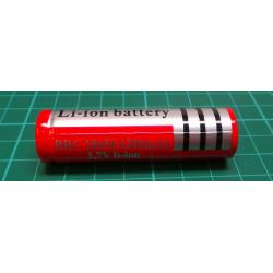 3.7V 4200mAh 18650 Li-ion Rechargeable Battery for Flashlight D