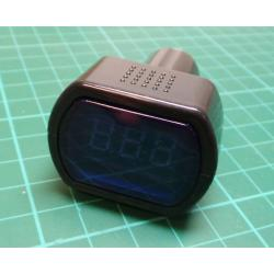 LED Car Battery Electric Cigarette Lighter Voltmeter Voltage Meter Gauge TesterL