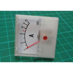 Panel Meter, Analogue, 0-10A, 40x40mm