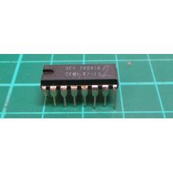 74S416 - 4-bit obousměrný budič/přijímač, DIL16 /UCY74S416/
