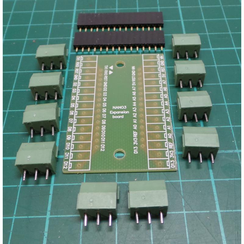 Arduino nano breakout board dsmcz