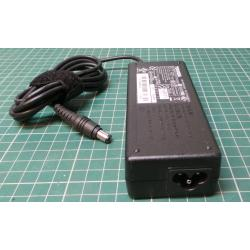 Used PSU, 15V, 5A, Cloverleaf Input, Barrel Output