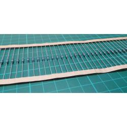 Resistor: metal film, THT, 1,2kΩ, 0.6W, ± 1%, Ø2,5x6,8mm, 50ppm / ° C