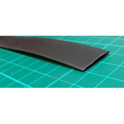 Shrink tubing 12.0 / 6.0 mm black