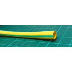 6.0/3.0mm, Heatshrink, yellow/green