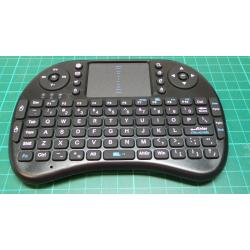 RF 2.4G Wireless Mini Handheld Keyboard Mouse Touchpad for Laptop PC Android UR