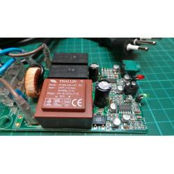 220V Switching Board, 9V Transformer, 2xRelays, IR Sensor, 22V Cables and other parts