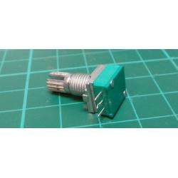 100k / N, WH9011A shaft 6x15mm, rotary potentiometer