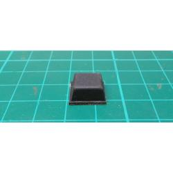 Self Adhesive Rubber Foot, 13x13mm, 6mm High