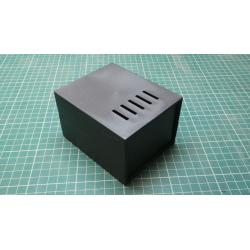 Project Box, Plastic, 110mm, 90mm, 69mm, black
