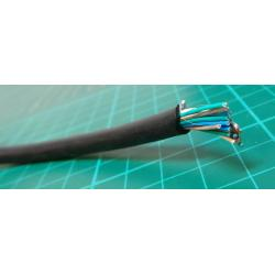 Cable, 20 Core, Foil Screened with Drain Wire