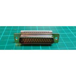 D Type, Plug, 25 Pin, IDC Type (For Ribbon Cable)