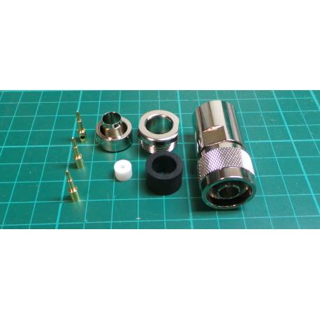 N Type Connector for W103 Microwave Coax - DSMCZ