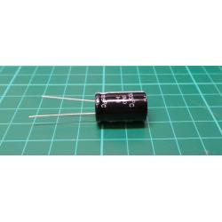 2200u/25V 105° 13x26x5mm, elektrolyt.kondenzátor radiální