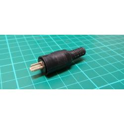 2 Pin Din, Male, Speaker Connector