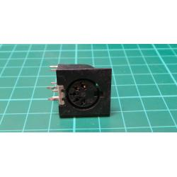 Din socket, 5 Pin, PCB Mount
