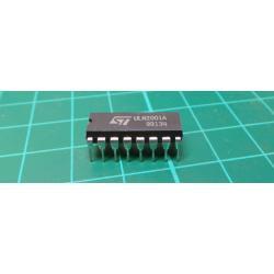 ULN2001A - tranzistorové pole Darlington DIL16, ST