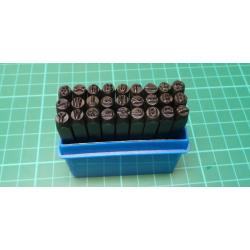 27 Piece Metal Stamp Set, 4mm