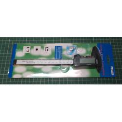 Digital Vernier caliper, 150 mm, 0.02 mm accuracy, Plastic Body