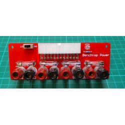 1PCS 24 Pins ATX Benchtop Board Computer PC Power Supply Breakout Adapter Module